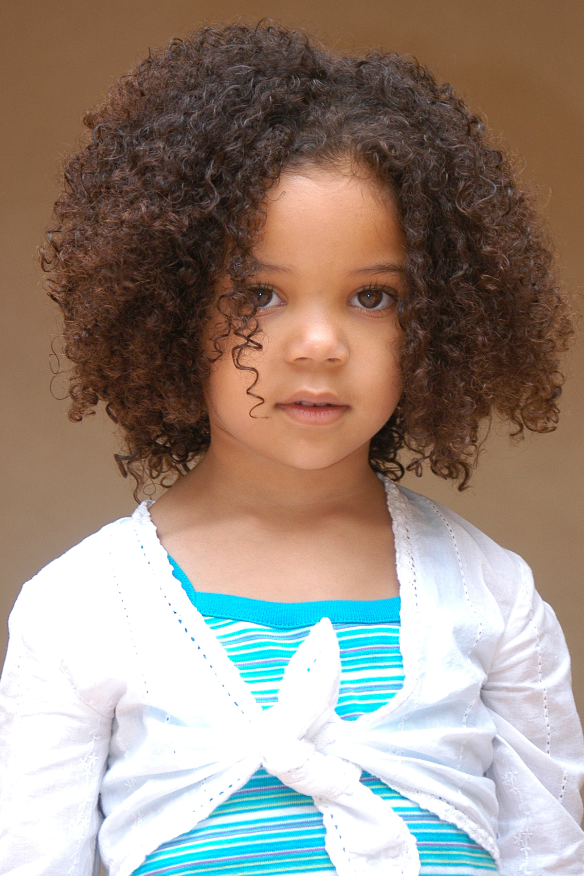 Hairstyles for Mixed Girls with Curly Hair